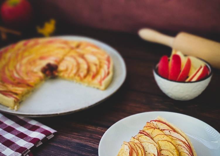 Comment faire Cuire Délicieuse Tarte aux pommes de mon enfance revisitée