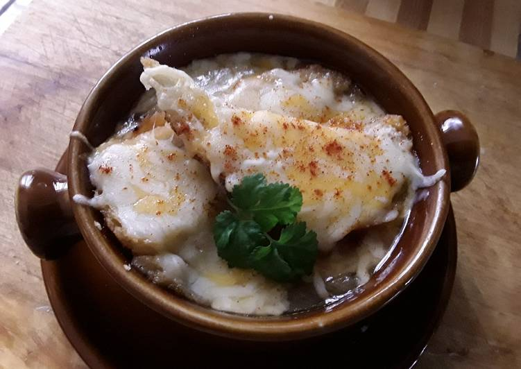 Sig's Onion soup with Brandy, #myfavouriterecipes
