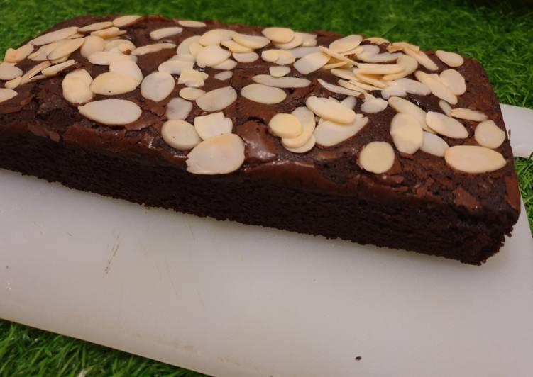 resep brownies panggang no oven praktis