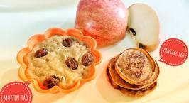 Hình ảnh món Cake Táo (Muffin Táo + Pancake Táo)