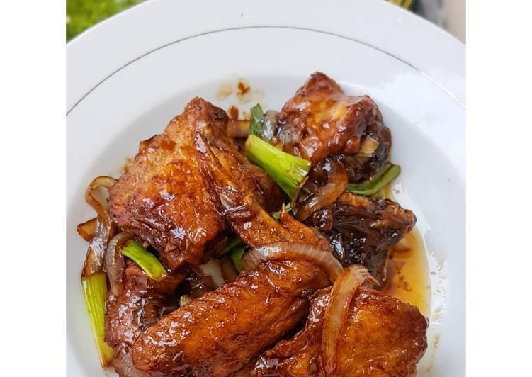 Resep 89.Ayam Goreng Mentega 🍗🍚💕, Menggugah Selera