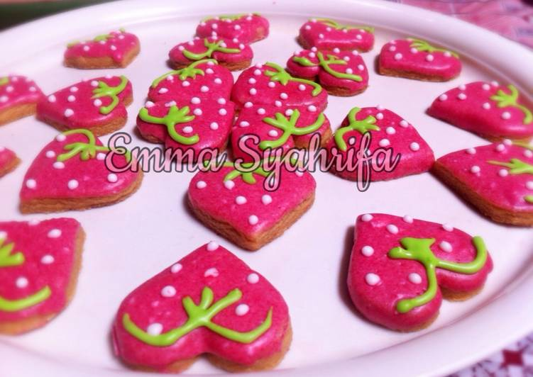 Strawberry Sweet Cookies