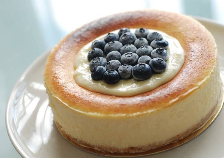 Recipe: Appetizing New York Cheesecake (6 Inches)