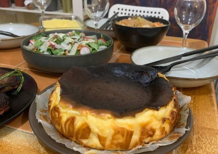 Recipe of Ultimate Basque Burnt Cheesecake