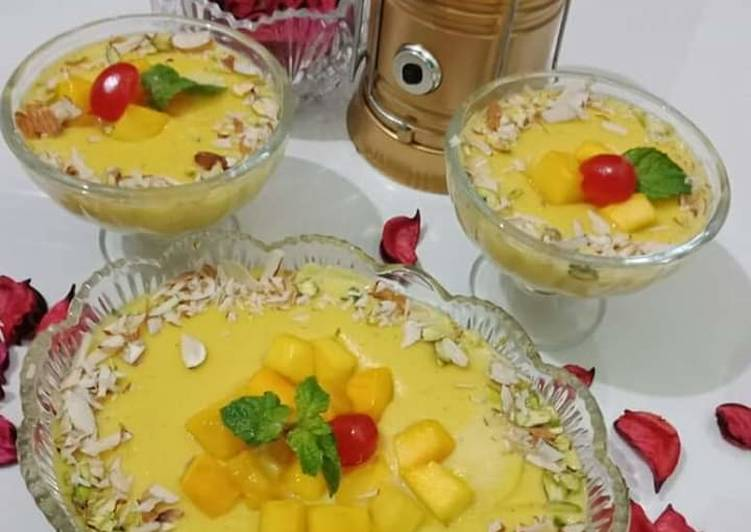 How to Make Any-night-of-the-week ✡🔴✡mango kheer ✡🔴✡  #EidKiMeethas