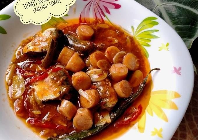 94)tumis sosis sarden (kaleng) simpel