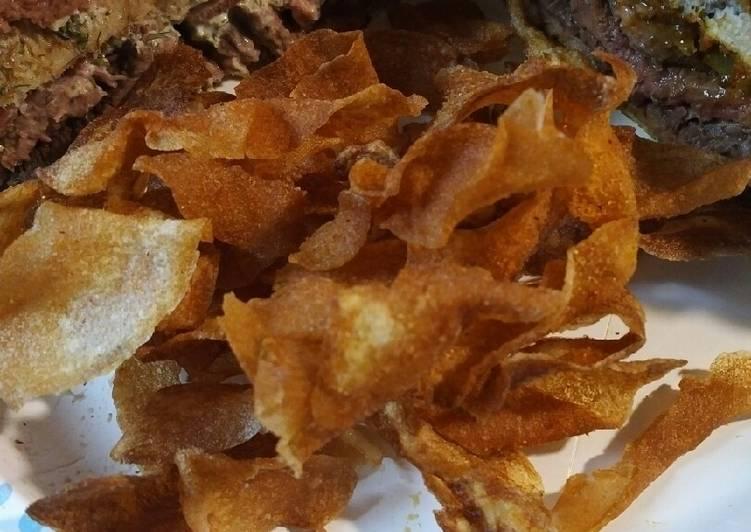 Recipe: Appetizing Ribbon Potatoes