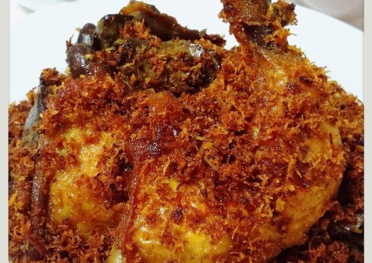 Resep Ayam Goreng Serundeng Oleh Yny Cookpad