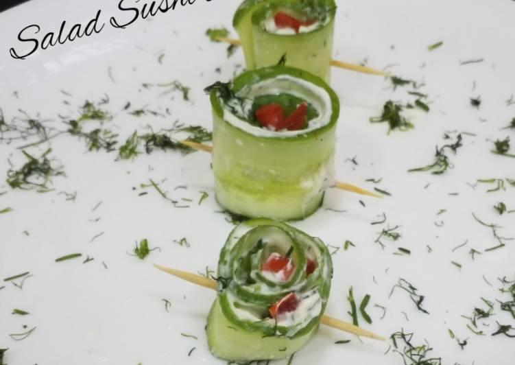 Recipe of Super Quick Homemade Salad Sushi Rolls