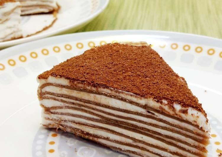 13. Crepe Cake 🍫🍶🍫🍶🍫🍶🍫🍶🍫🍶🍫
