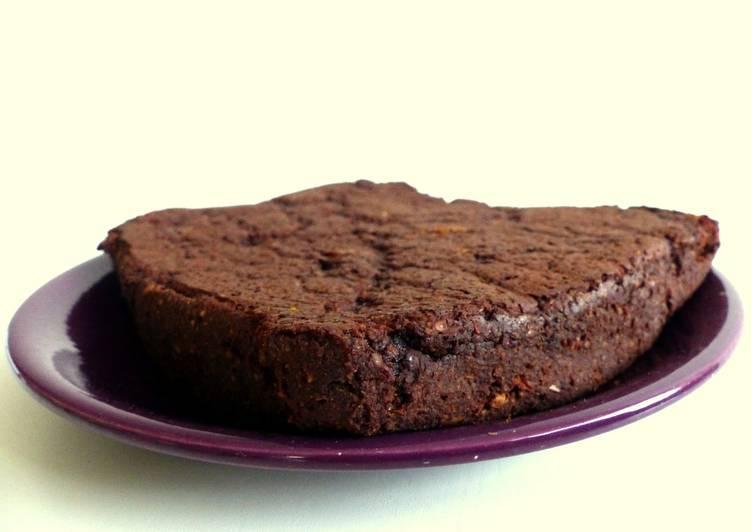 Brownies à la patate douce -végan, sans gluten, sans sucre-
