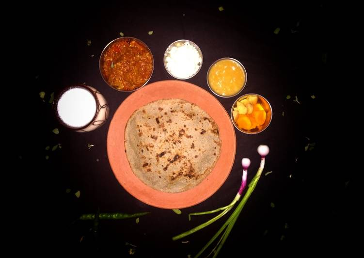 Pearl Millet Roti (Bajra na rotla) - Laurie G Edwards