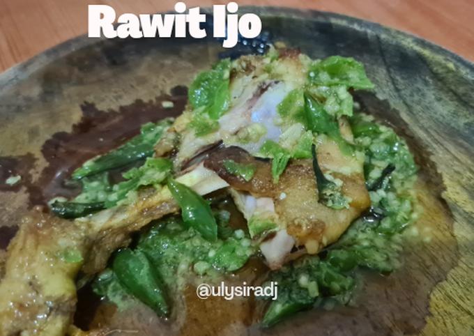 Ayam Geprek Rawit Ijo