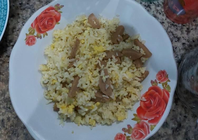Resep Nasi goreng bawang simple bakso Bikin Jadi Laper