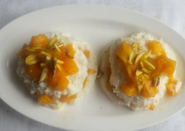 What are some Dinner Easy Blends Quick Mango Sandesh