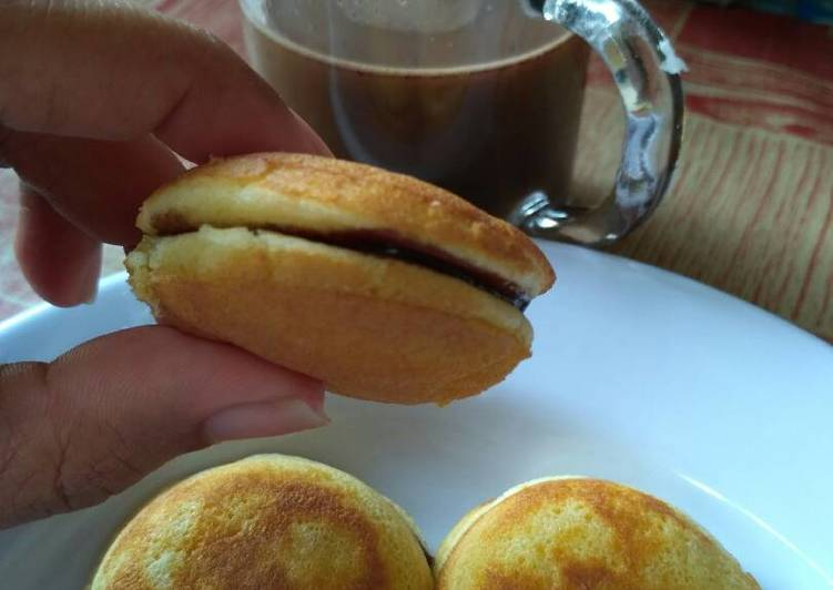 Resep Pancake ala2 Dorayaki Paling Joss