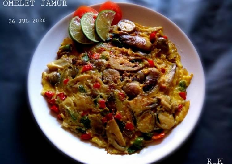 Resep #Omelet Jamur Sangat Mudah👌 Bikin Ngiler