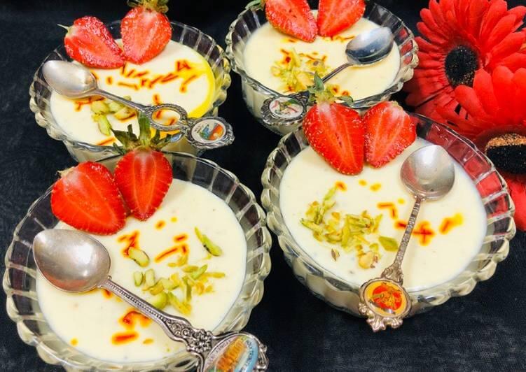 Steamed Yoghurt