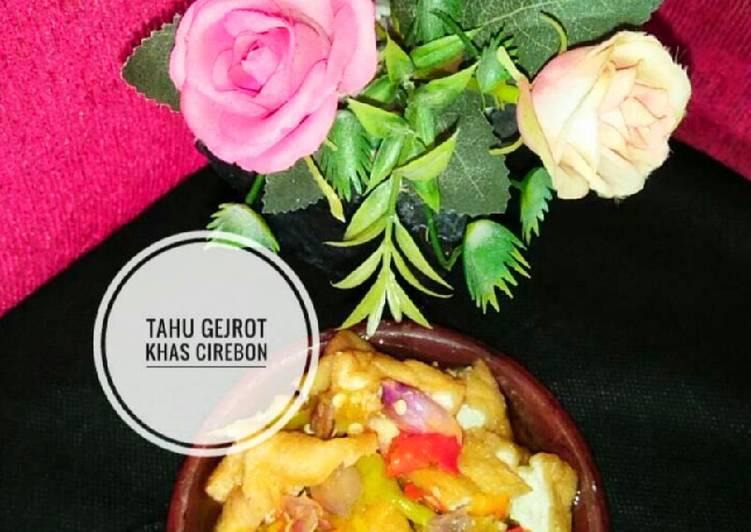Makanan Khas Cirebon~Tahu Gejrot Khas Cirebon