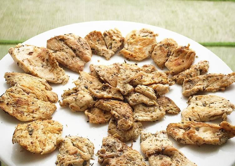 Ayam panggang diet (healthy food)
