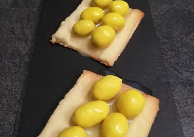 Biscuits aux m&m's jaune 😊