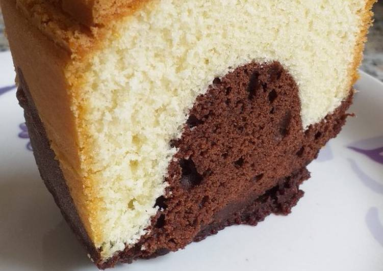 Simple Way to Prepare Award-winning Marble cake