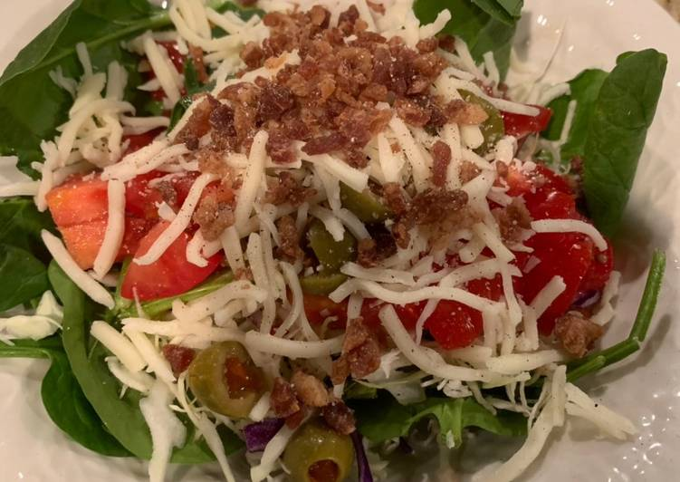 Easiest Way to Make Delicious Spinach Salad