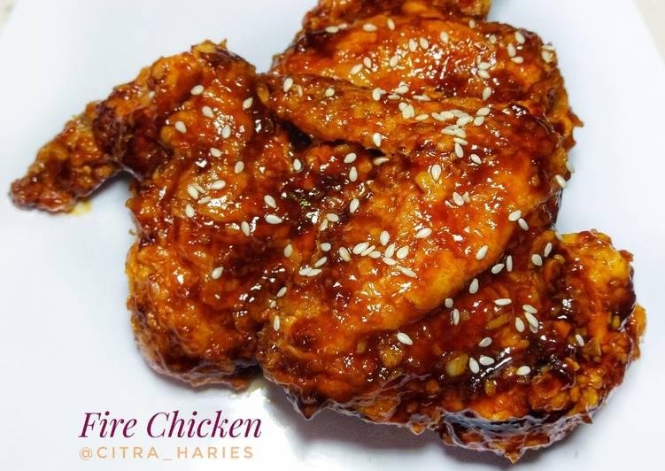 Fire Chicken/Ayam Pedas Korea