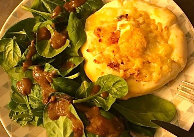 Tourte coquillettes camembert