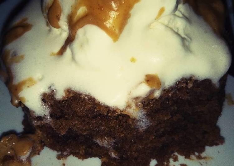 Steps to Prepare Super Quick Homemade Chocolate Mug Cake