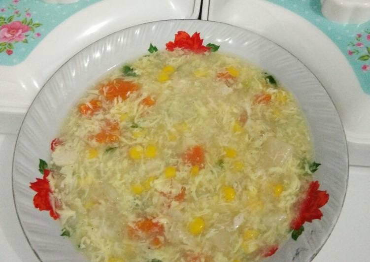 Sup asparagus simpel