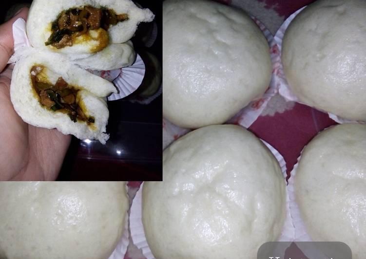 Resep Bakpao menul ini ayam lembut, cepat, praktis Paling Gampang