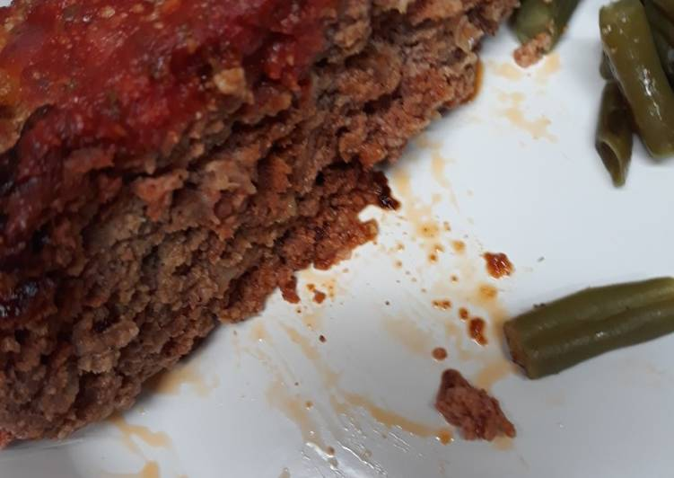 Recipe: Delicious Two Meatloaf in one pan