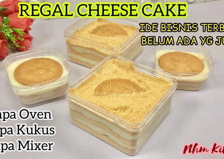 Regal cheese cake dessert box