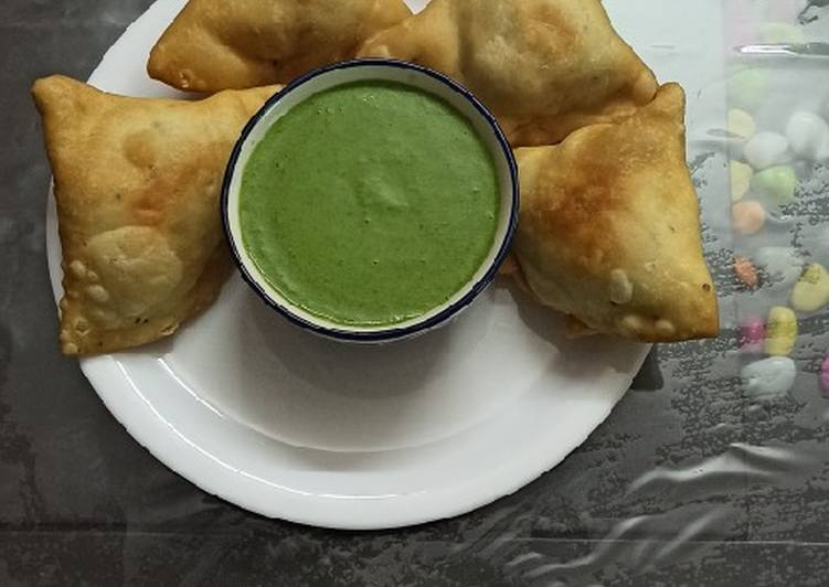Step-by-Step Guide to Prepare Any-night-of-the-week Halwai style khasta samosa