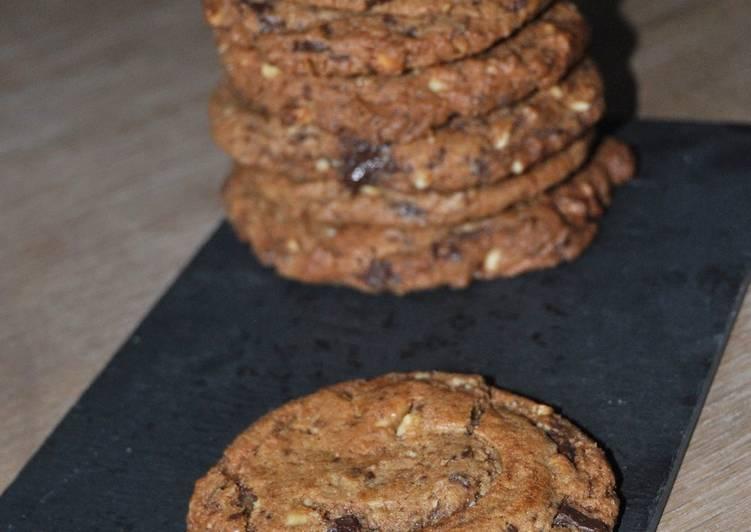 La Délicieuse Recette du Cookies chip Chocolate