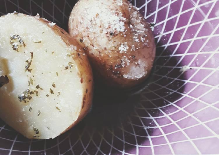 Simple Skinny Potatoes