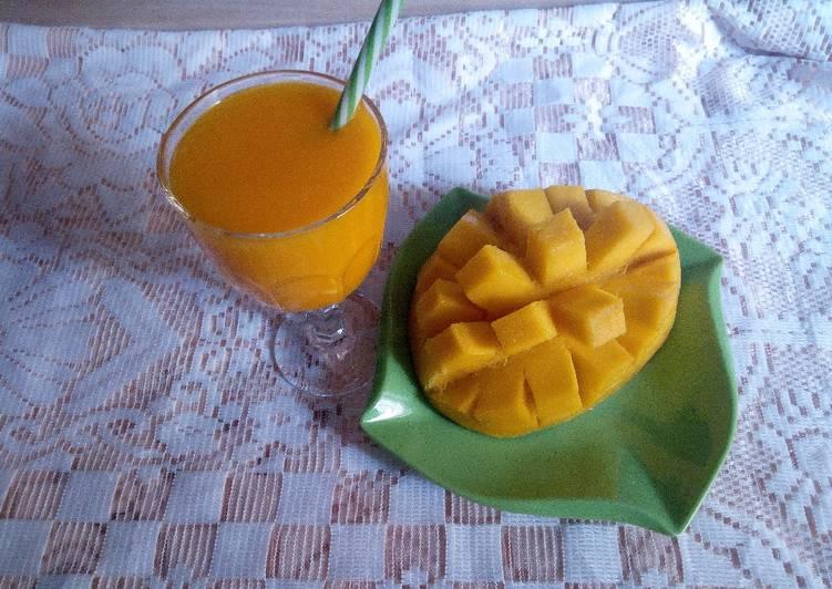 How to Prepare Super Quick Homemade Mango Juice 3