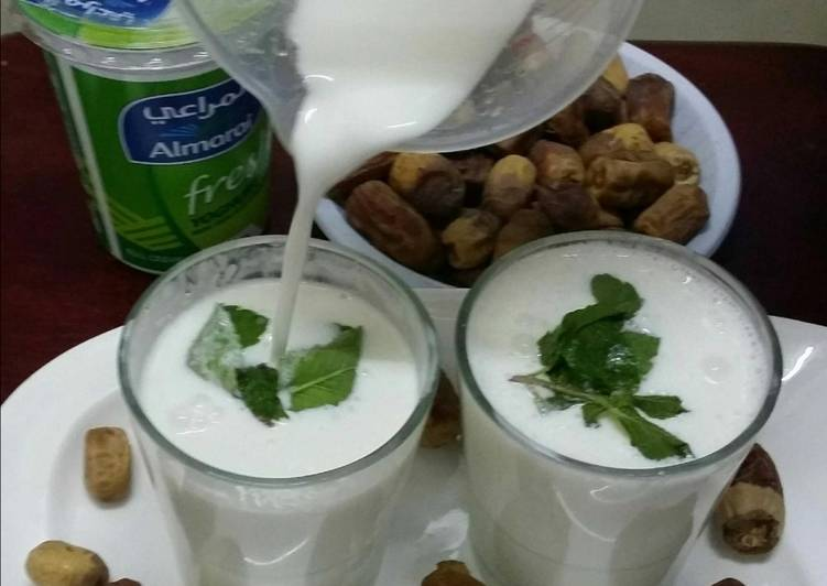 Ayran/Laban(Middle Eastern Savoury Yoghurt Drink)