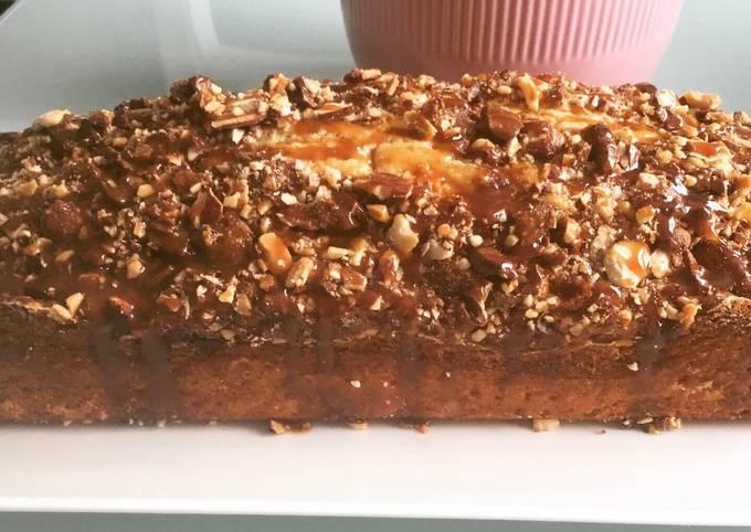 Cake amandes chocolat caramel