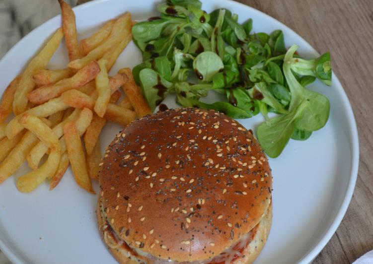 La Meilleur Recette De Burger de veau