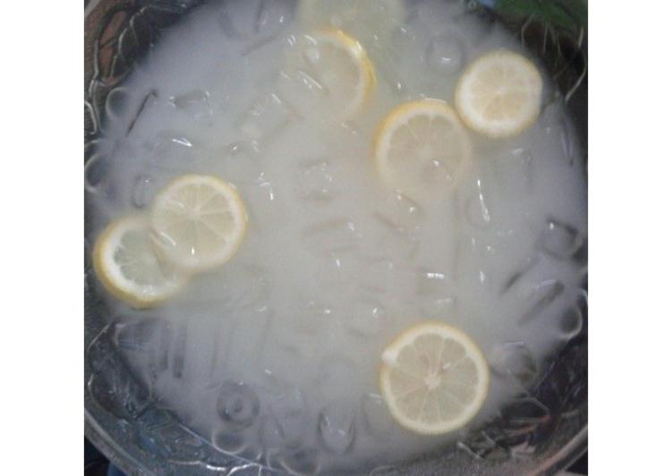 Lemon Barley #Maratonraya #Minuman - resepipouler.com