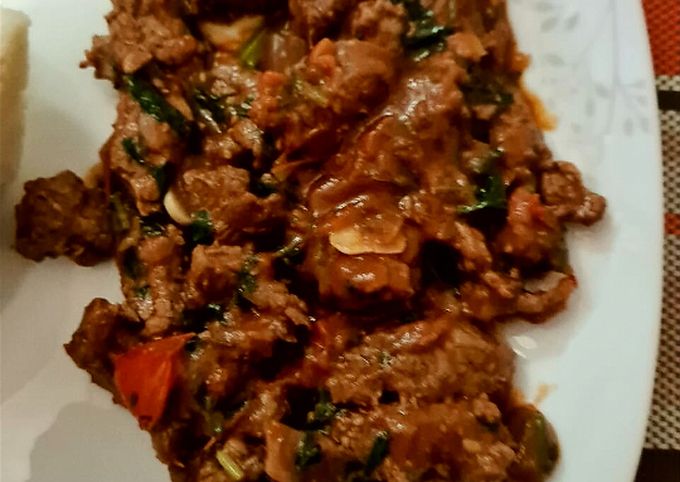 Spicy appetizing homemade #beef😍