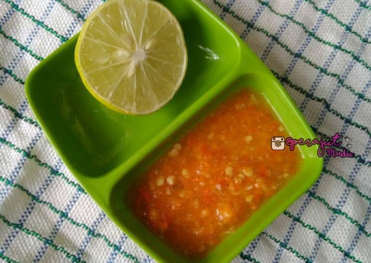 Resep Sambel khas Tukang Bakso/Mie Ayam