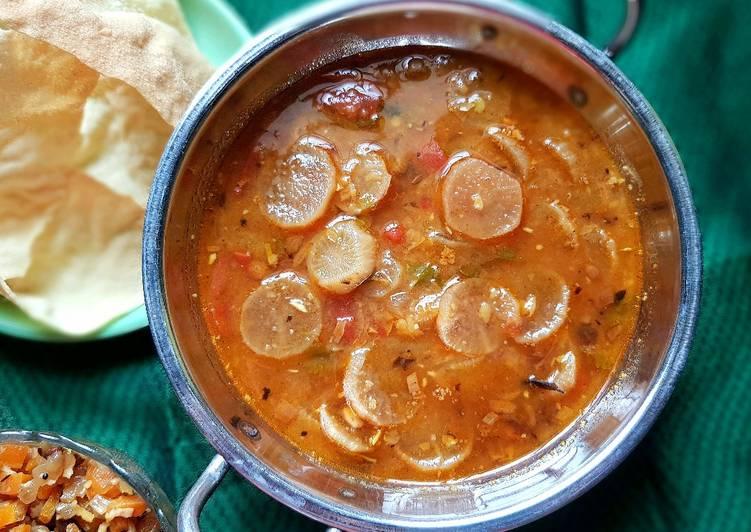 Recipe of Perfect Raddish Sambar