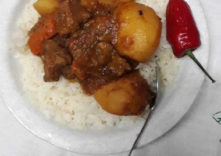 Royco Mchuzi Mix Meat Stew #authormarathon#