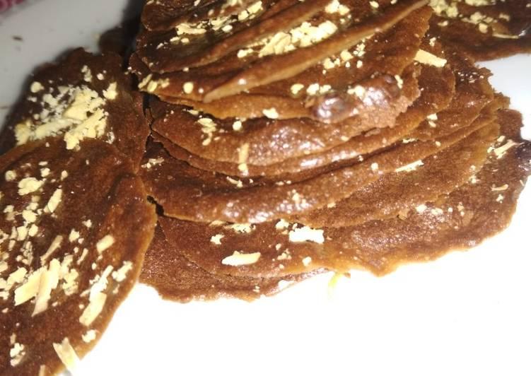 Cara Memasak Resep Yummy Dari 12. Brownies pondan almond crispy