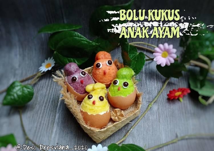 Bolu Kukus Anak Ayam(No Mixer No Oven)