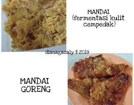 Cara Buat Mandai (fermentasi kulit cempedak)