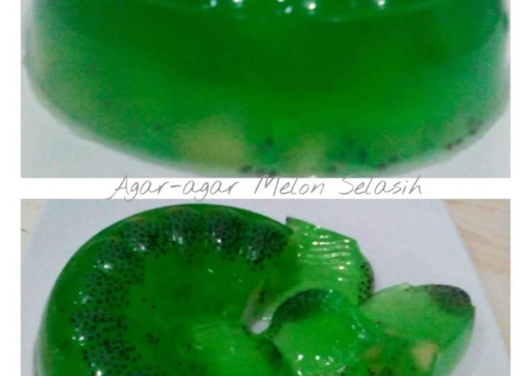 Agar-agar Melon Segar